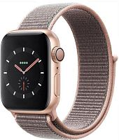 Apple Watch Series 4 40mm Case Gold Aluminium Sport Loop Pink Sand купить в Барнауле