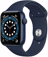 Apple Watch Series 6 GPS 40mm Case Blue Aluminium Band Blue купить в Барнауле